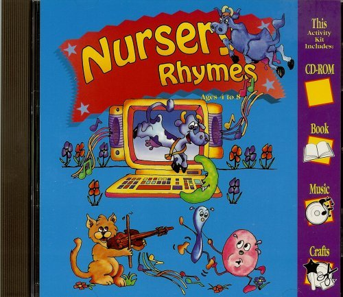 Nursery Rhymes Ages 4 to 8 Book Music Crafts