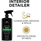 Interior Quick Detailer - Stain Remover, Dashboard Cleaner and Protectant, Car Vinyl, Rubber, Leather Cleaning tool…