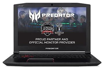 "Acer Predator Helios 300 PH315-51-7581 - Ordenador portátil de 15.6"" Full"