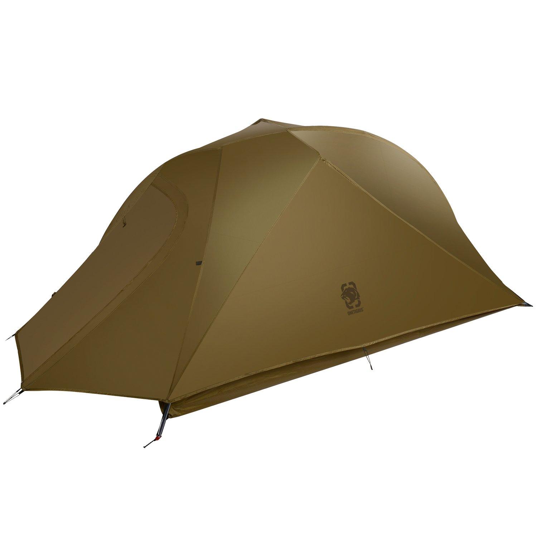 4000 mm Supervivencia Impermeable 1T Oasis Tienda de campa/ña para Mochila