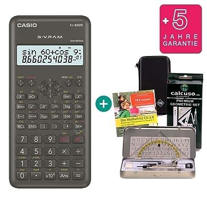 Deutsch MatheFritz Lern-CD Casio FX 85  MS Taschenrechner