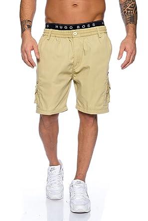 84a4f2203e9bfc Herren Shorts Freemen Bermuda Cargo Capri Kurze Hose Vintage Short Casual 08:  Amazon.de: Bekleidung