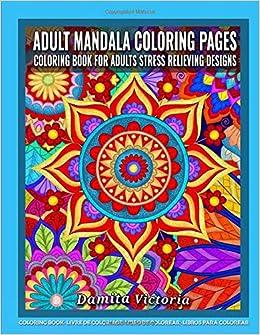 Adult Mandala Coloring Pages | Coloring Book ... - Amazon.com