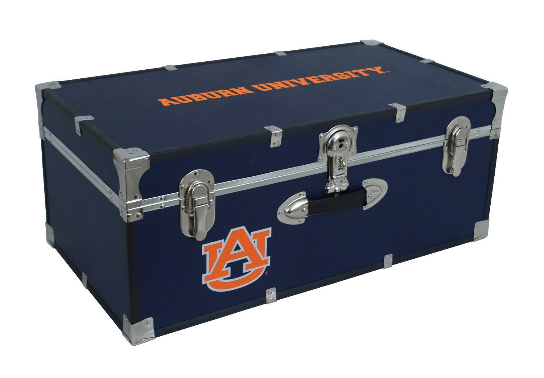 Seward Trunk Auburn University Foot Locker, AU, Blue, 30-Inch