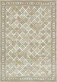 Unique Loom Cambridge Collection Traditional Textured Pattern Vintage Beige Area Rug (8′ x 11′)