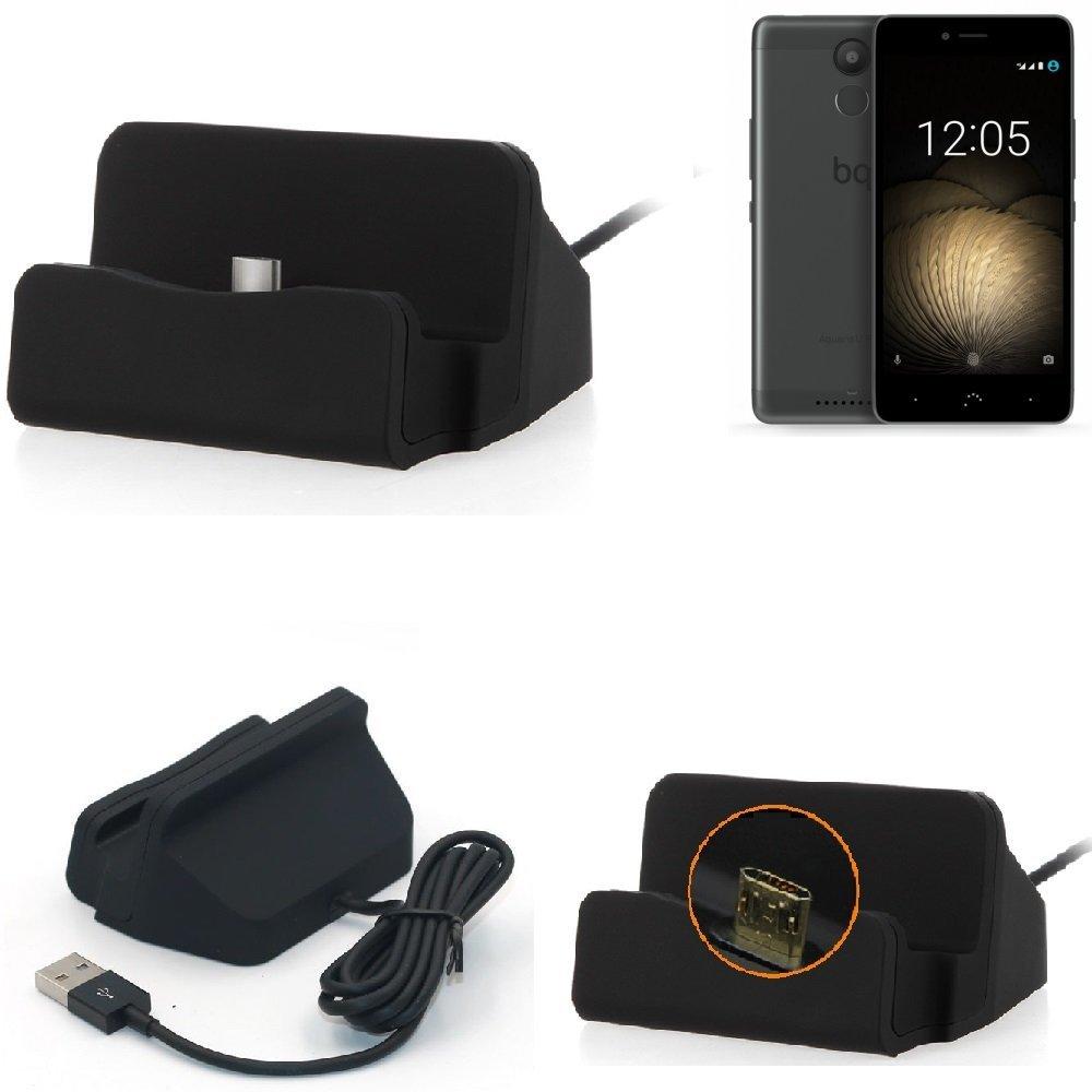 K-S-Trade Base de Carga para BQ Aquaris U Plus Micro USB ...