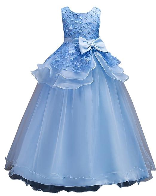 Qitun Vestido Largo Elegante Sin Mangas De Ceremonia Boda Fiesta Coctel Disfraces Princesa Vestido De Gala