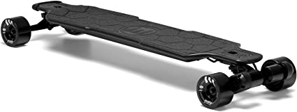 Evolve Skateboards Electric Carbon GTR Street and All Terrain Longboard, 26 MPH, 31 Mile Range Street, All Terrain, 2in1 Models with Remote