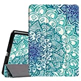 Fintie iPad Mini 3 2 1 Case - Lightweight Slimshell Smart Stand Cover with Premium PU Leather Back Protector for Apple iPad Mini 1 Mini 2 Mini 3 (Auto Wake Sleep) - Emerald Illusions