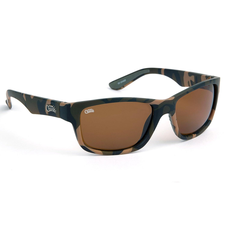 5fcac2464e18 Fox Chunk Sunglasses (Camo Brown): Amazon.co.uk: Sports & Outdoors