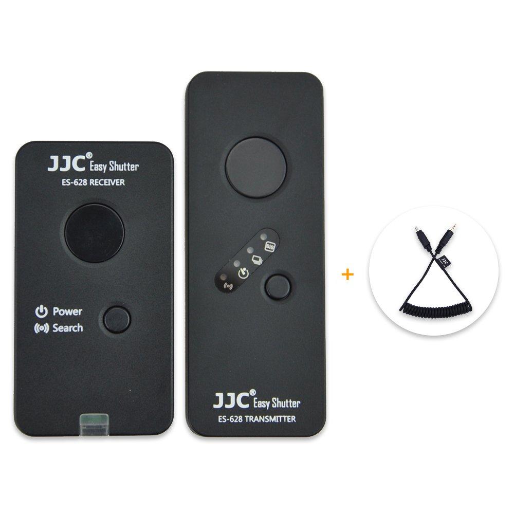 Wireless Shutter Remote Control JJC Wireless Remote Shutter Release for Nikon D3100 D3200 D3300 D5000 D5100 D5200 D5300 D5500 D5600 D7000 D7100 D7200 D7500 D750 D610 D600 D90 Df P7800 P7700