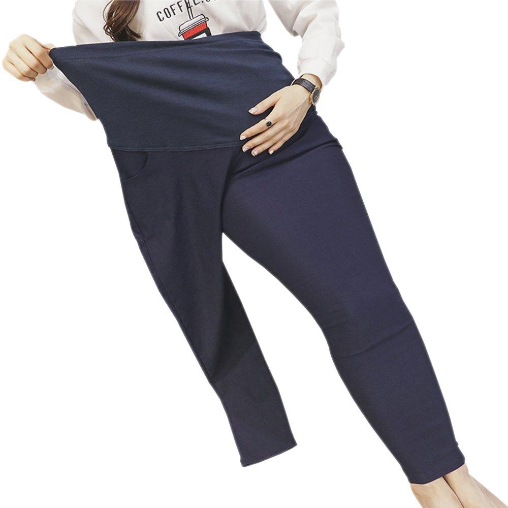 XFentech Mujeres Leggings de Maternidad, 4XL-5XL