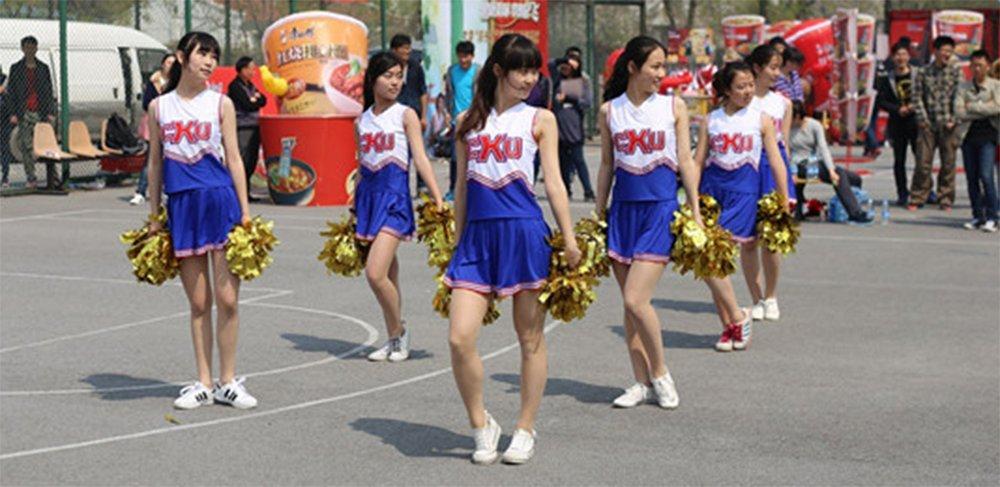 lumanuby Party deportes disfraz animadora pompones de bola de flores con mango de pl/ástico Mano Flores Rookie bola 1/pc