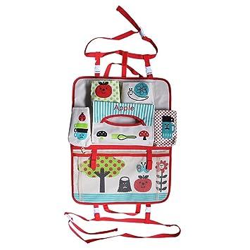 Asiento trasero coche organizador bolsas de almacenamiento organizador cochecito de bebé cochecito cochecito BUGGY Bag 2