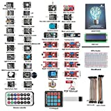 SunFounder Basic Sensor Kit for Arduino UNO R3 Mega2560 Mega328 Nano (without controller) - Including 87 Page Instructions Book