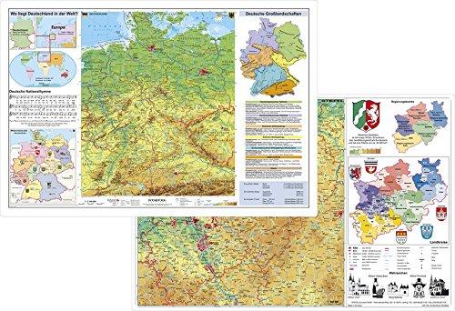 Deutschland physisch / Nordrhein-Westfalen physisch