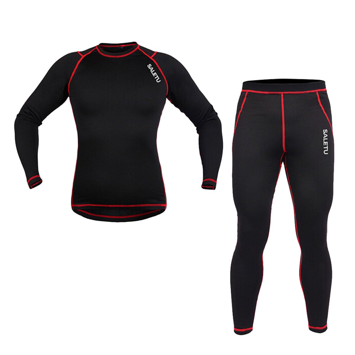 Latinaric Winter Sport Herren Warm Unterwäsche Thermounterwäsche Funktionsunterwäsche Set