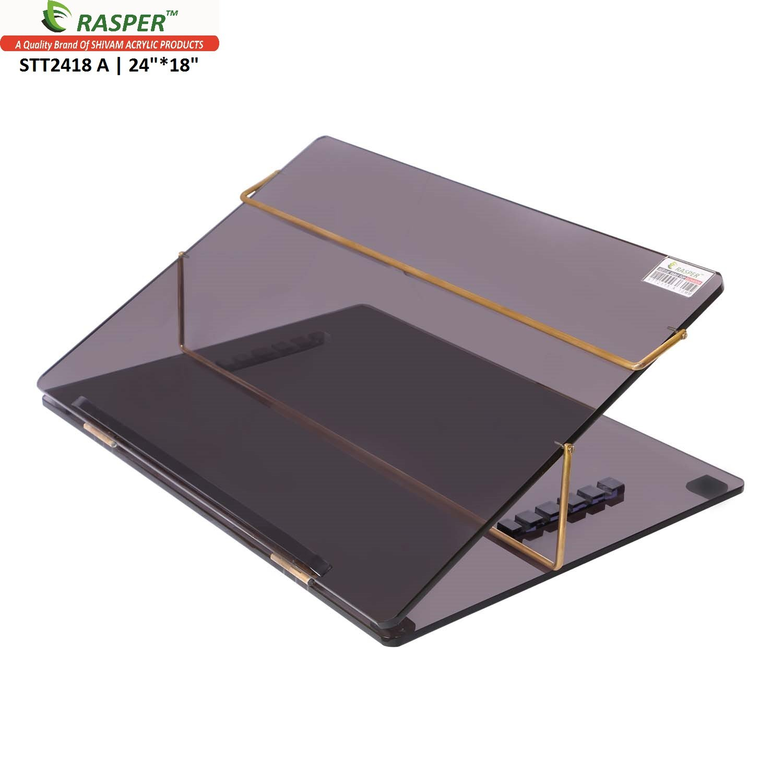 Rasper Acrylic Table Top Elevator (Big Size 24X18 Inches) Premium Quality