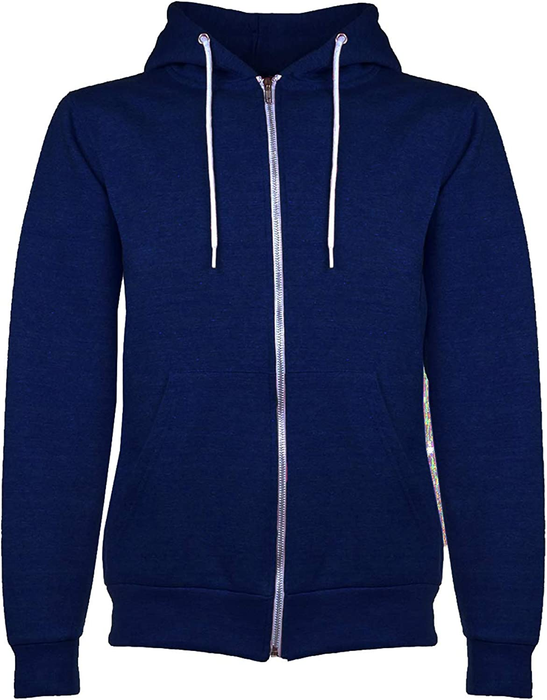Be Jealous Kids Fleece Knit Hoodie Zip Up Hoody Sweatshirt