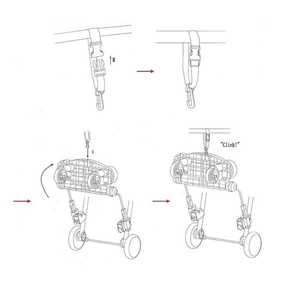 Zerlar Universal Ride-On Stroller Board Stroller Connectors by Zerlar (Image #8)