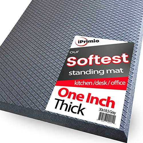 iPrimio Anti Fatigue Floor Mat for Office, Standing desk and Kitchen - 30