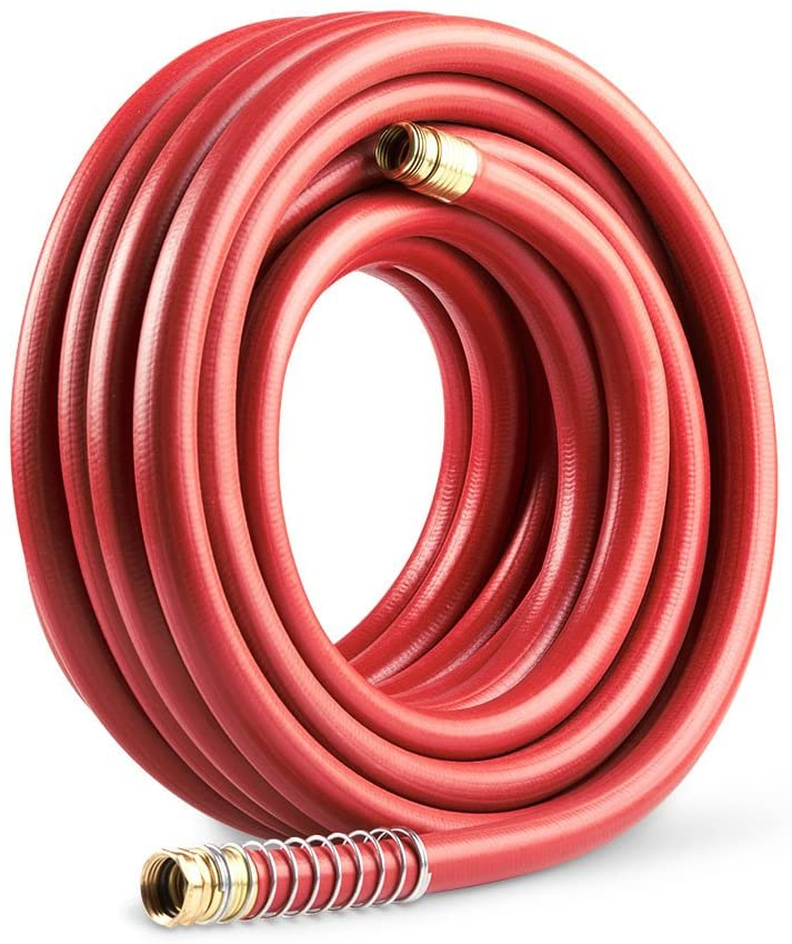 Gilmour 840751-1002 Pro Commercial Hose 3/4 Inch x 75 Feet, Red