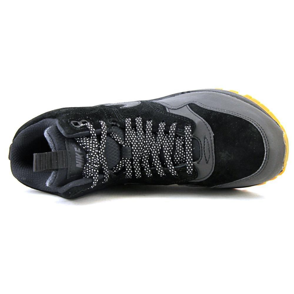 NIKE WMNS Air Max 1 MID SNKRBT Schuhe Damen Sneaker Boots Schwarz685267 003, Größenauswahl:39