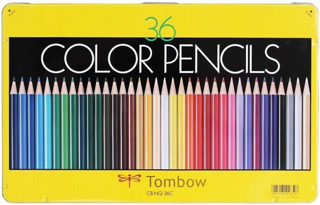 トンボ鉛筆 色鉛筆 NQ 36色