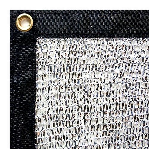 Stone Shade & Tarps 40% Aluminet Shade Net 10x12 + 10pcs Bungee Cords by Stone Shade & Tarps