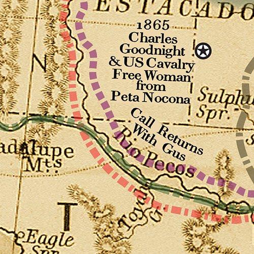 Amazon.com: The Great Lonesome Dove & Comanche Moon Trails ...