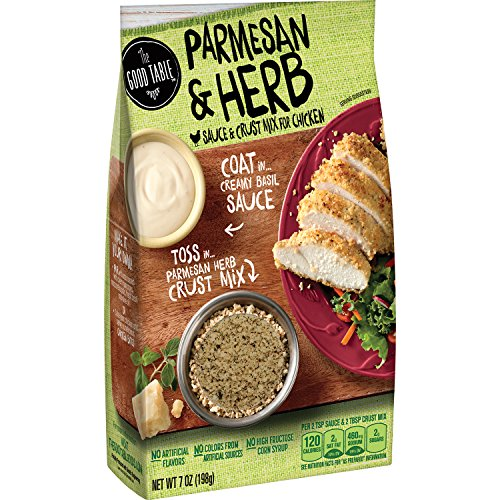 Price comparison product image The Good Table Parmesan & Herb Sauce & Crust Mix for Chicken 7 oz. Box (pack of 8)