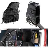J309 Lantsun Spare Tire Multi-Storage Bag Organiser Foldable Holder Cargo Bag for Jeep Wrangler JK Unlimited 07-17 Ltd 2 Yr Warranty Lantsun Group Co
