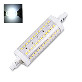 Brightinwd 10w Blanc Dimmable Halogène Led R7s Ampoule Lampe Froid Remplacer 118mm wO8Pkn0