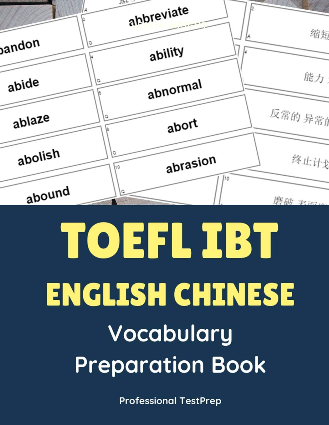 - Buy Toefl IBT English Chinese Vocabulary Preparation Book: Easy To
