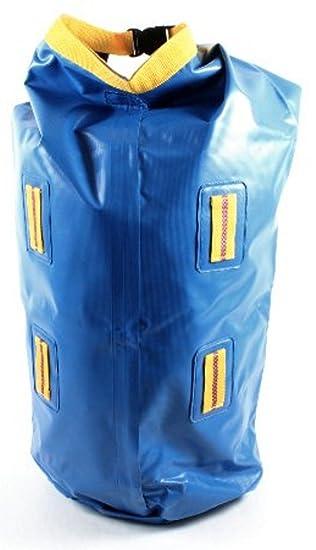 Outdoor Roll-Packsack wasserdicht 80L blau