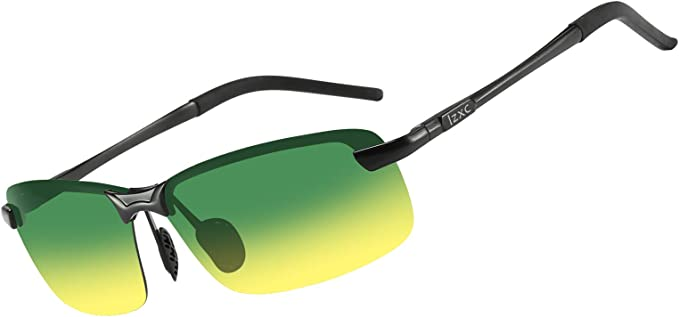 New Brand Driving Day /& Night Vision Goggle Mirror Men/'s Polarized Sunglasses