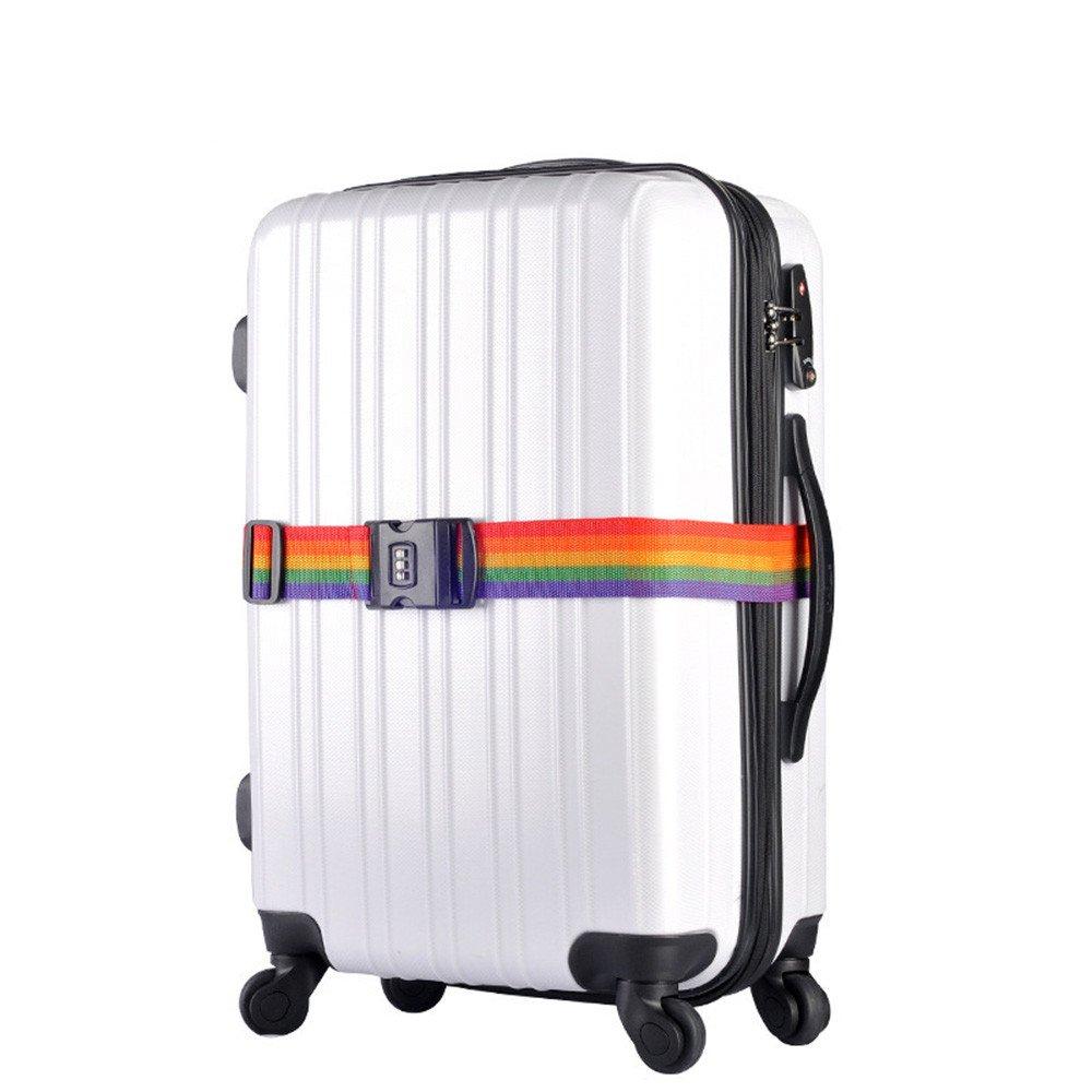 Serria Sangles /à bagages Ajustable Voyage Mot de passe Fermer /à cl/é Emballage Ceinture Valise Bagages S/écurit/é Les bretelles Cadenas Valise Bagage