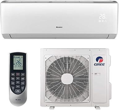 Amazon Com Gree 18 000 Btu 16 Seer Livo Wall Mount Ductless Mini Split Air Conditioner Heat Pump 208 230v Home Kitchen