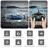 SZJJX RC Boat 2.4Ghz 25KM/H High Speed 4 Channels