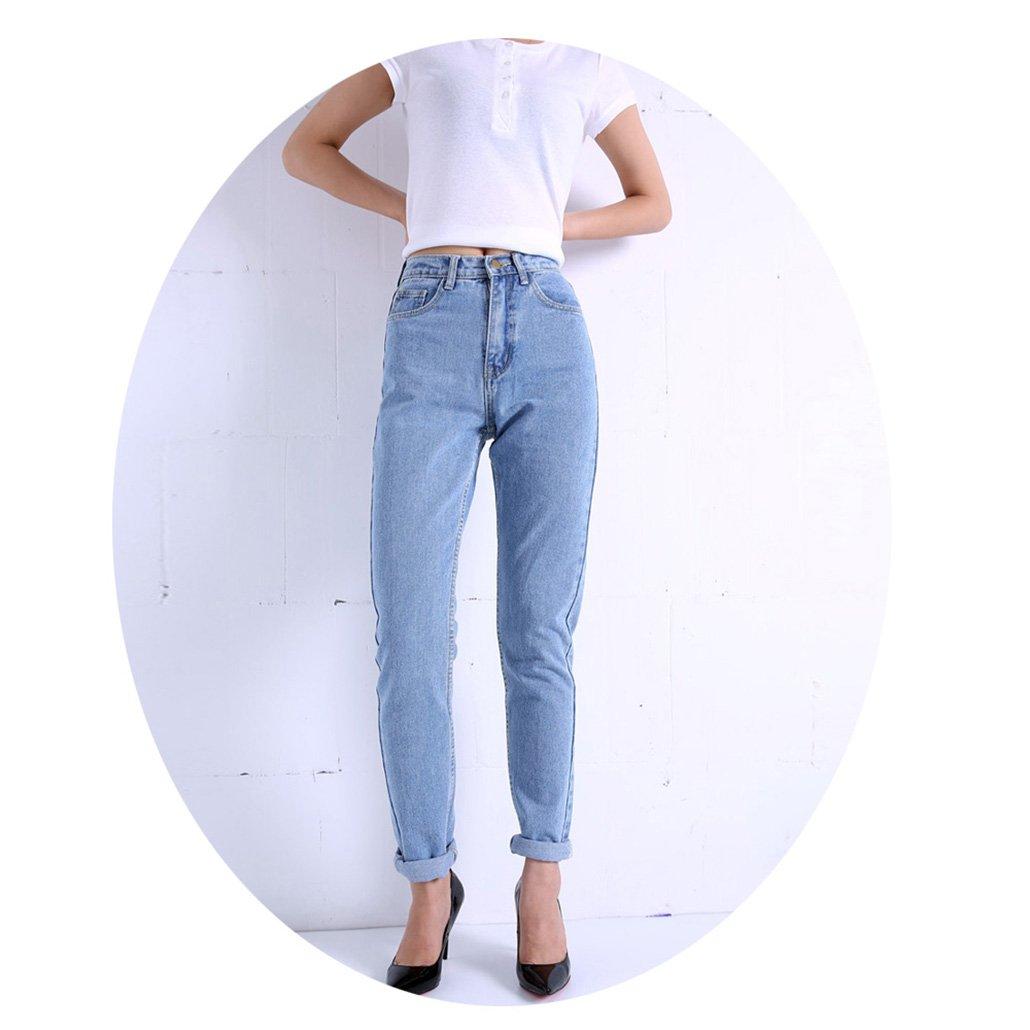 CARMELA HILL WILLIAMS Pants Vintage High Waist Jeans New Womens Pants Full Length Pants Loose Cowboy Pants C1332