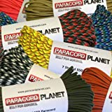 Paracord Planet 550 Assorted Colors of Paracord in 50 and...