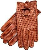 Riparo Motorsports Men's Genuine Leather Mesh Driving Gloves