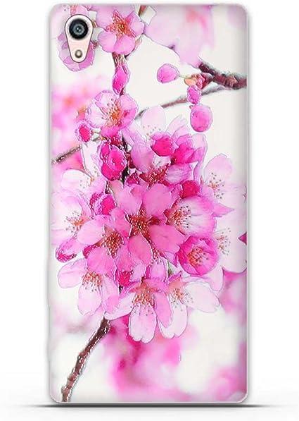 FUBAODA para Sony Xperia Z5 Premium Hermosa Flor Patrón,Fina ...
