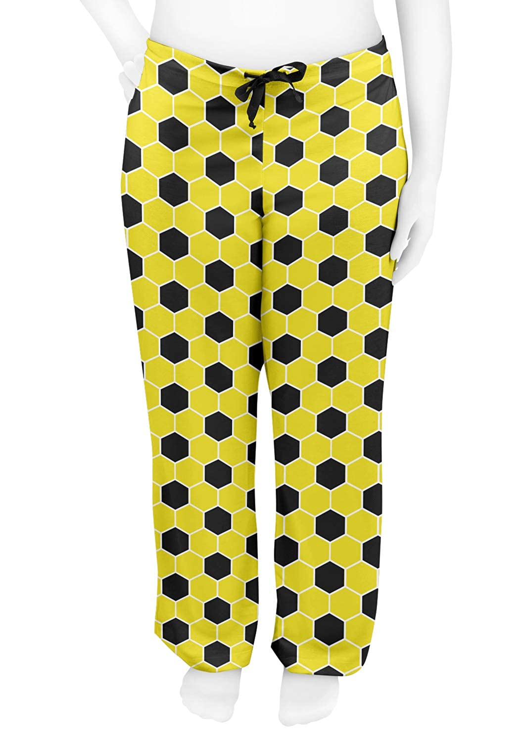 Yellow Personalized S RNK Shops Honeycomb Womens Pajama Pants