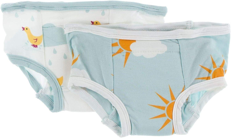 2-Pack Girls KicKee Pants Bamboo Potty Training Pants Set Boys