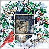 Dimensions Needlecrafts Counted Cross Stitch, Winter Kitten