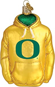Old World Christmas University of Oregon Ducks Glass Blown Ornaments for Christmas Tree Hoodie