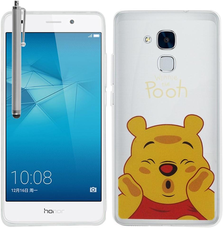 VComp-Shop - Carcasa de silicona para Huawei Honor 5c, diseño de ...