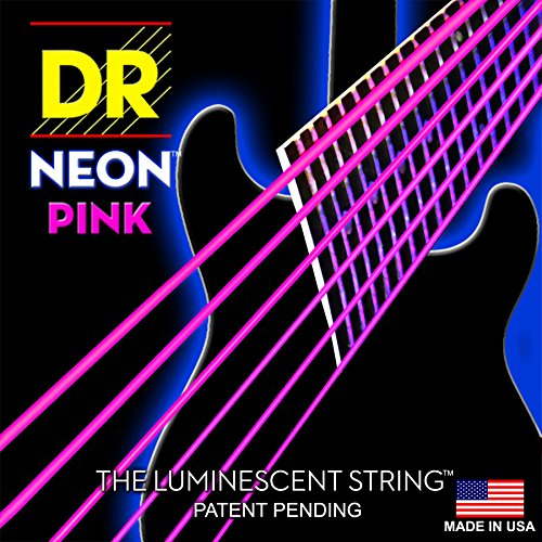 DR Strings NPE-10 Coated Nickel Hi-Def Pink Electric Guitar