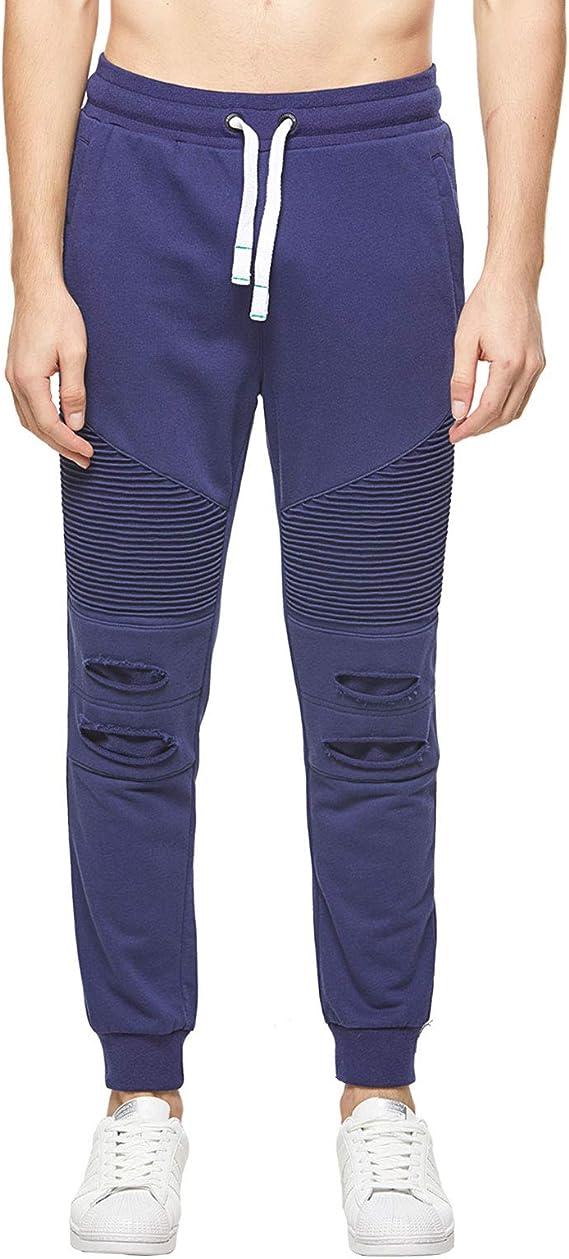 Extreme Pop Hombre Pantalones de chándal Pantalón de chándal Gimnasio Pantalones de Buceo Pantalones de chándal Slim fit Pantalones elásticos UK Stock: Amazon.es: Ropa y accesorios